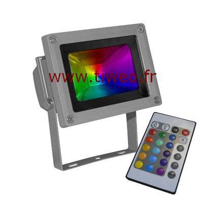 Projector led 10W RGB red green blue yellow