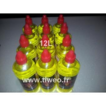 Álcool gel para lareira bio 12L