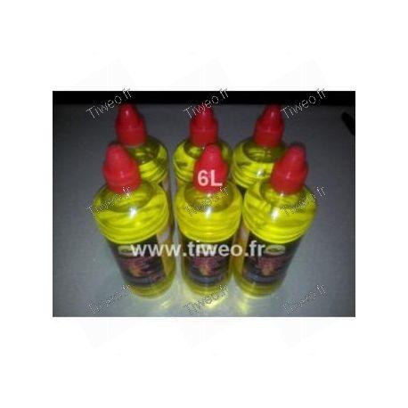 Gel ethanol pour cheminée bio 6L