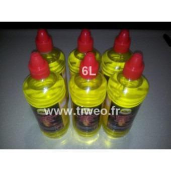 Etanol de gel para chimenea bio 6L