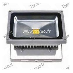 Projetor de led poderoso 50W branco quente