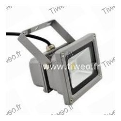 10W branco quente led projetor