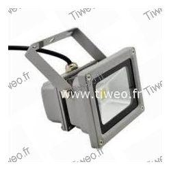 Proyector de led 10W blanco caliente