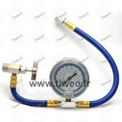 Flexibel laddning för R22 eller R134 gas