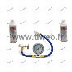 Ladda gas R22 x 2 med flexibla (gasa 22) Kit