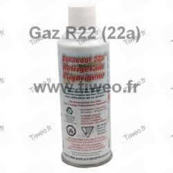 Recharge gaz R22 (gaz 22a fluide de substitution)