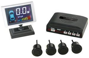 Radar rekyl + display och 4 sensorer