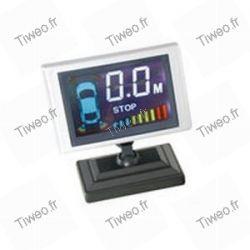 Umkehrradar + Bildschirm und 4 Sensoren