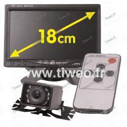 Telecamera posteriore a specchio dei video