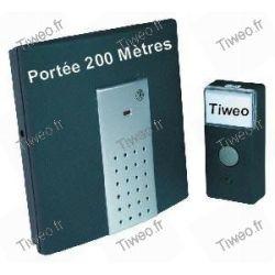 8 wireless gamma melodie del carillon: 200 m