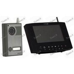 Video intercom colored Digital Wireless + screen range 200 meters