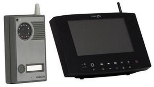 Intercom färg Digital trådlös video + skärm kommer 200 meter