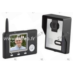 Portier cor de vídeo sem fio alcance 300m