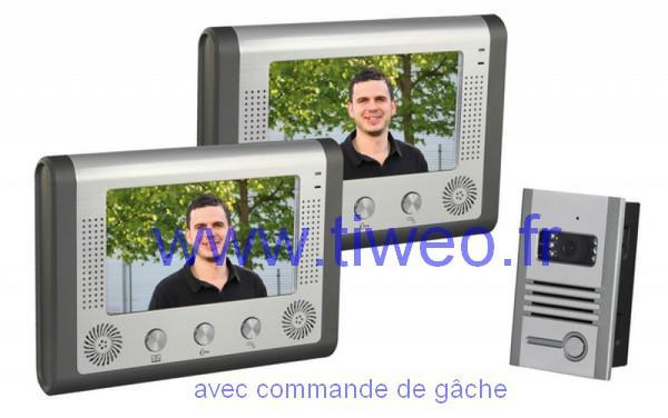 Portier video + 2 Farbe zeigt Farbe