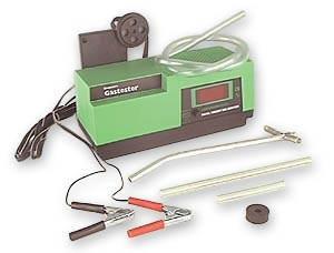 Gas analyzer C. O2 Gastester to adjust its fuel