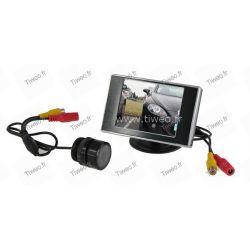Battuta d'arresto macchina fotografica per specchietto retrovisore dell'automobile