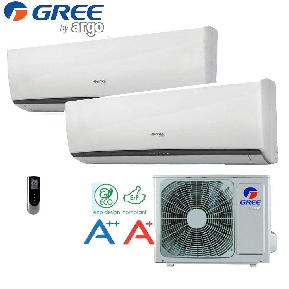 Bi-split 9000 luftkonditioneringen + 12000 BTU Inverter