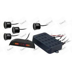 Rückwärtsfahren mit 4 Sensoren und display