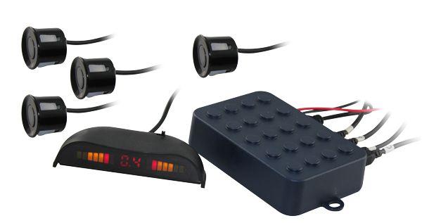 Invertendo com 4 sensores e display
