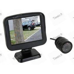 Med skärm för fordonet backkamera