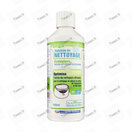 Liquide concentré pour nettoyeur à ultrasons