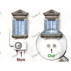 Air conditioner without outdoor unit