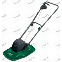 Electric mower on a cushion of air
