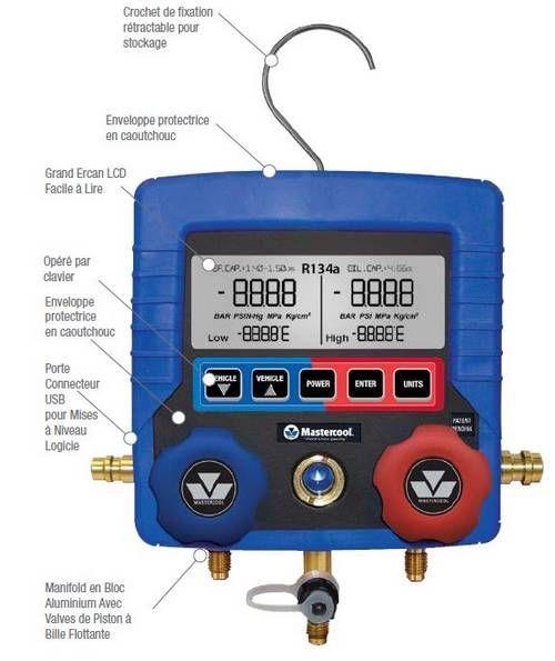Digital fördelare R134a har aircon auto