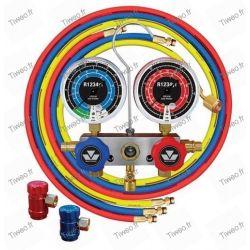 Manifold for gas R1234YF