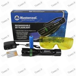 UV lamp rechargeable for leakage of air conditioning