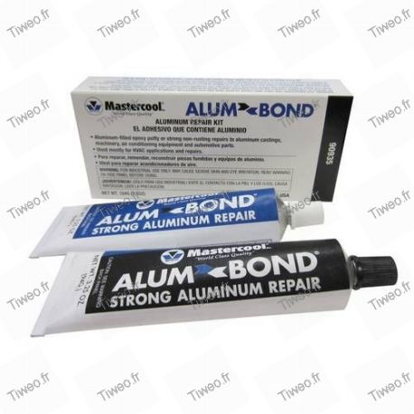 Radiator repair kit, aluminum condenser