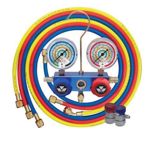 Colector de + 180cm flexível 3 + 2 HP e conexões de BP