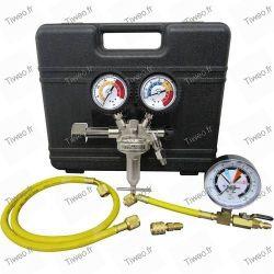 Kit för trycksättning av luftkonditionering