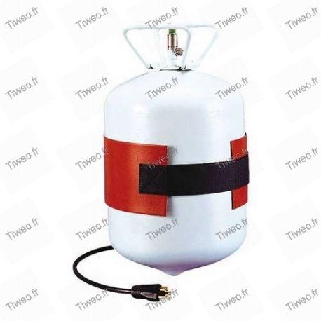 Cinta calefactora para carga de aire acondicionado