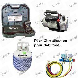 Pack débutant pour climatisation