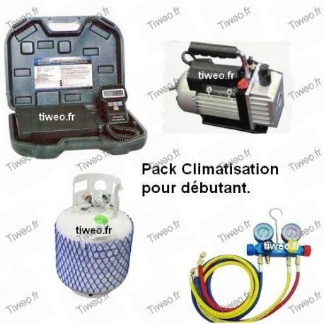 Starterpaket für die Klimaanlage