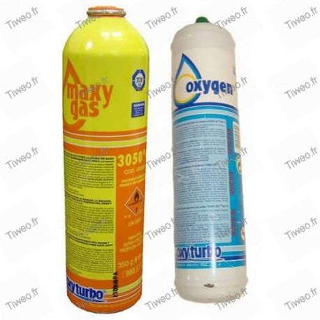 Cartouche pour chalumeau oxygene acetylene