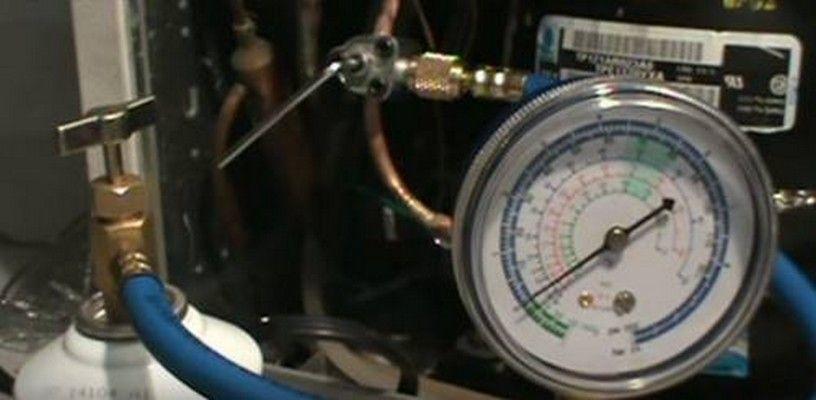 Kit-Refill-Kühlschrank gas R134a und R12
