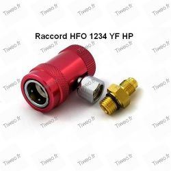 HFO-1234 YF HP quick connect