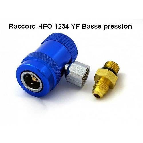 Conexión de baja presión de HFO 1234 YF