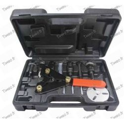 Air conditioning clutch extractor kit