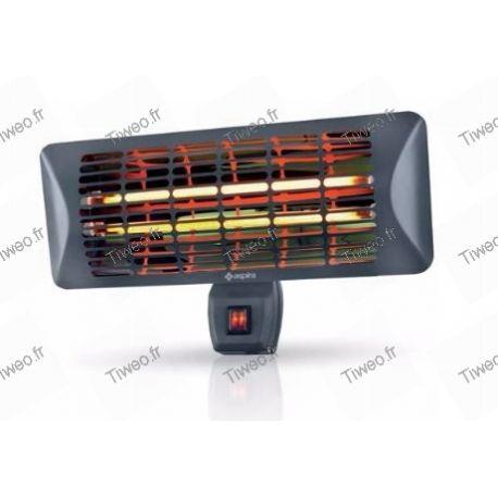 Calefacción por infrarrojos protegida interior exterior