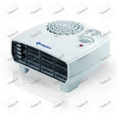 Aquecedor elétrico ventilado com turbo e temporizador