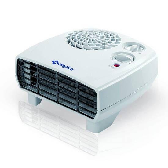 Ventilerade elektrisk värmare 2200W billigt