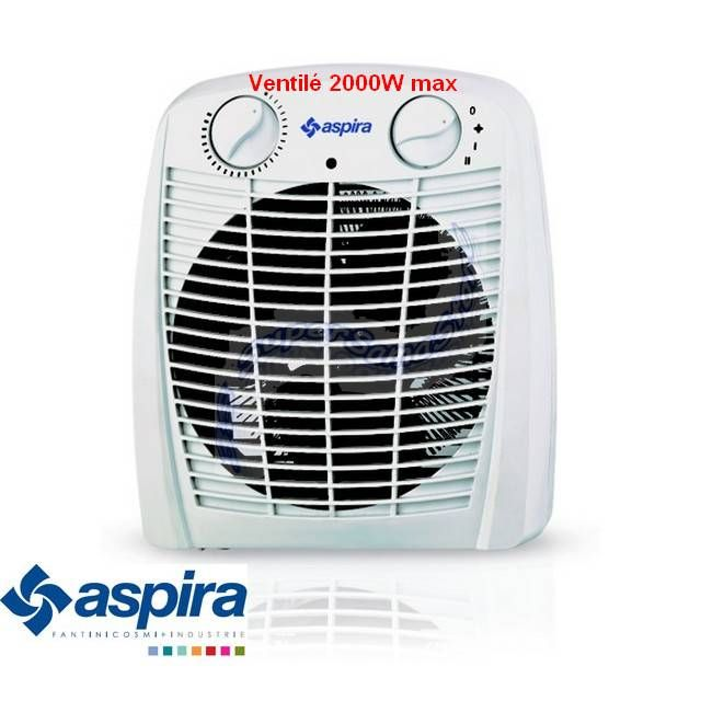 chauffage d 39 appoint soufflant 2000w radiateur soufflant pas cher. Black Bedroom Furniture Sets. Home Design Ideas