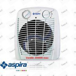 Belüfteten elektrische Heizung 2200W billig