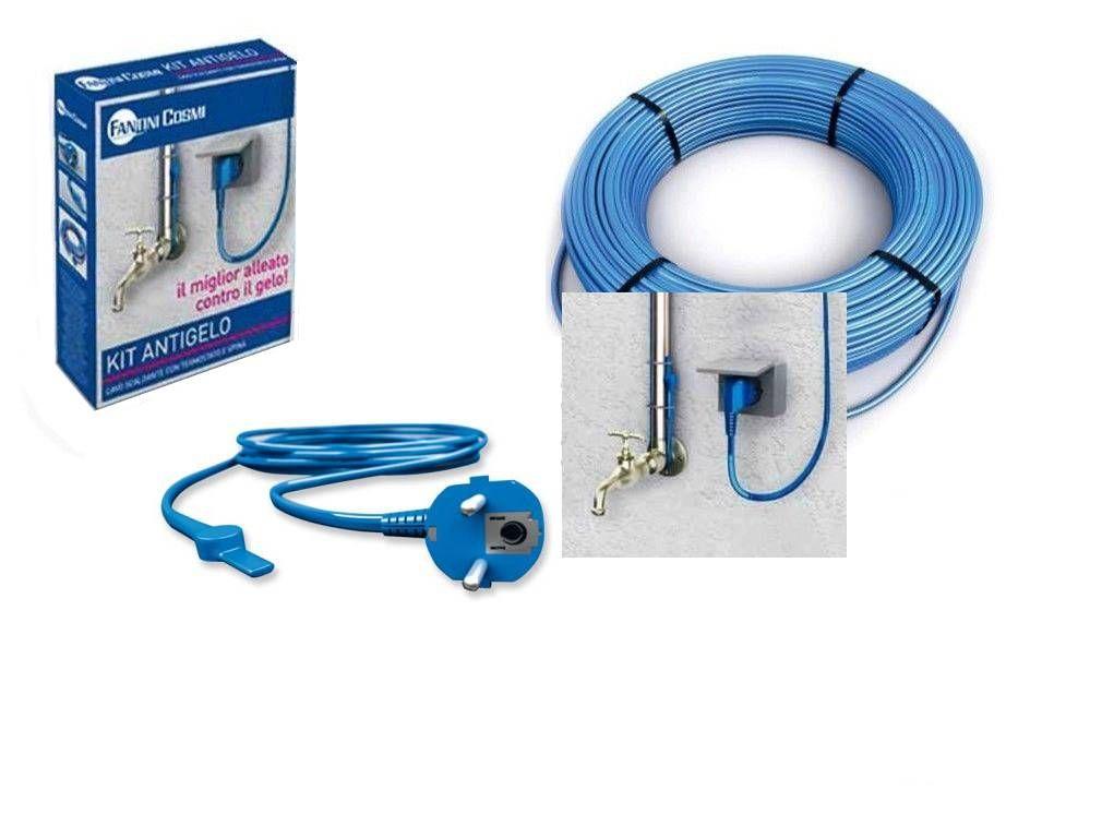 cabo de aquecimento com termostato anticongelante 9m