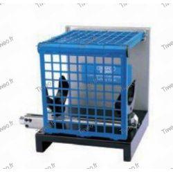 Cage pour compresseur d'amortisseur