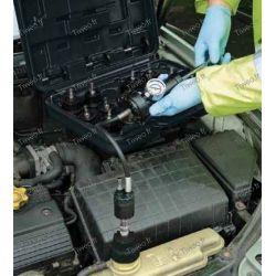 Testeur d'étanchéité et de mise en pression moteur