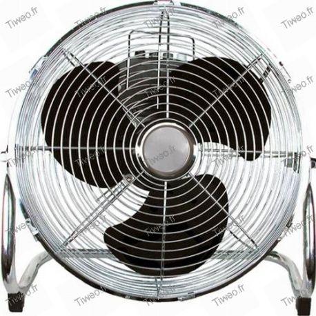 Cromo 30 cm inclinación ventilador